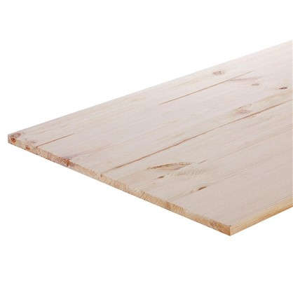 Мебельный щит 2500х600х18 хвоя сорт A/B