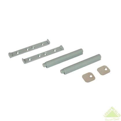 Механизм накладной Impuls 80х12 мм пластик цвет серый 2 шт. цена