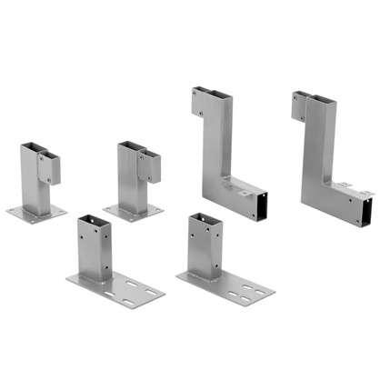 Модуль профильный верх/низ в два шага алюминий цена