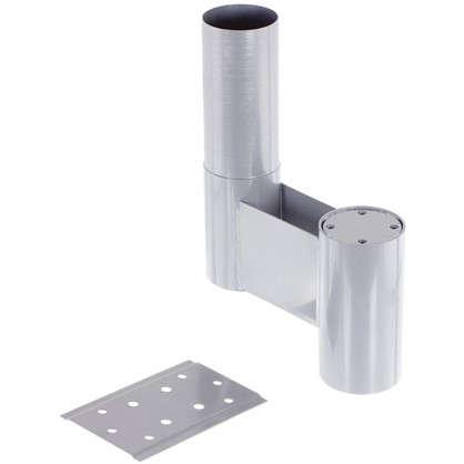 Модуль промежуточный 225 мм материал сталь цвет алюминий цена