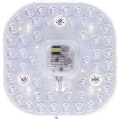 Модуль светодиодный квадратный на магнитах с драйвером 24 Вт 1680 Лм свет нейтральный цена