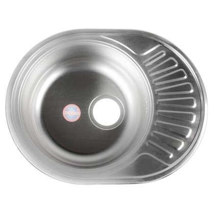 Мойка врезная 57х45 см цвет хром нержавеющая сталь цена