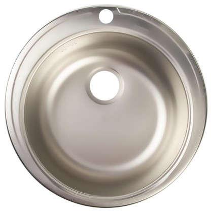 Мойка врезная Eurodomo 51см цвет хром нержавеющая сталь цена