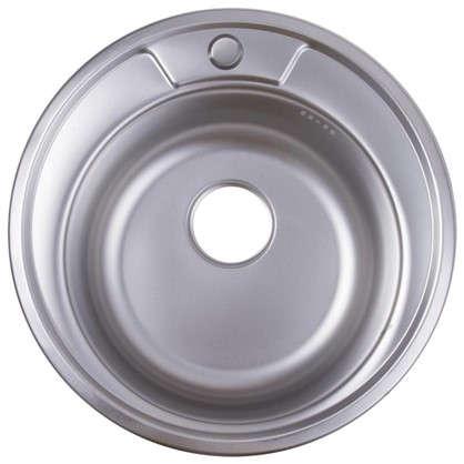 Мойка врезная Maidsink Kiba 49 см цвет хром нержавеющая сталь цена