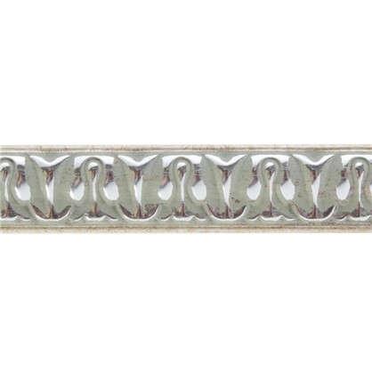 Молдинг настенный 103С-59 интерьерный 200х2 см цвет серебристый цена