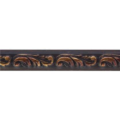 Молдинг настенный 130-966 интерьерный 200х1.5 см цвет коричневый