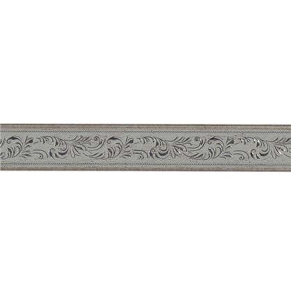 Молдинг настенный интерьерный 2 м 50х11 см цвет серебристый