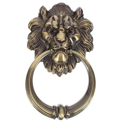 Молоток дверной Manzzaro Leone 10/40 цвет античная бронза