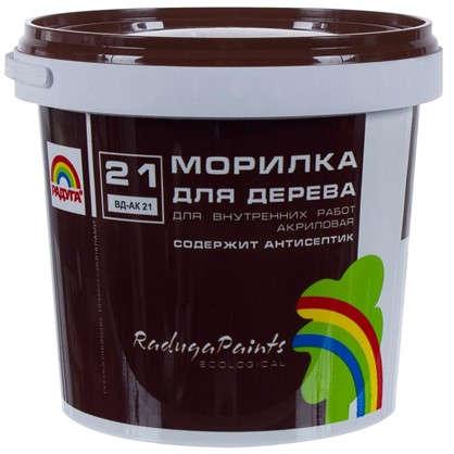 Морилка для дерева акриловая цвета махагон Радуга-21 ВДАК 1 кг