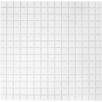 Мозаика 32.7х32.7 см 4 мм стекломасса цвет белый цена