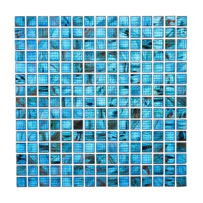 Мозаика 32.7х32.7 см стекломасса цвет синий цена