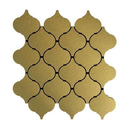 Мозаика Artens 24.8х26 см цвет золотой цена