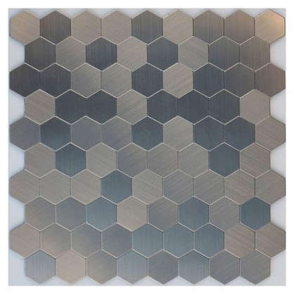 Мозаика Artens  28.8х29.2 см цвет серебристый