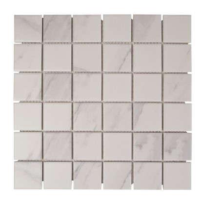 Мозаика Artens 30.4х30.4 см цвет белый цена