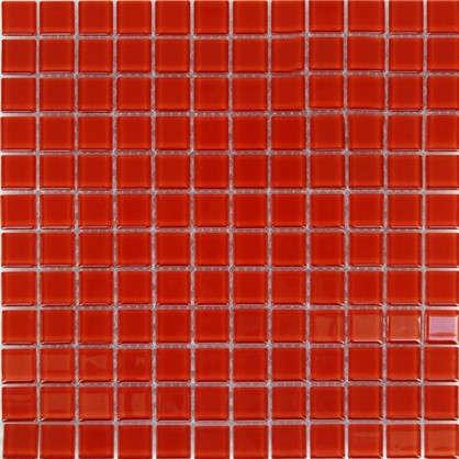 Мозаика Artens 30х30 см стекло цвет красный