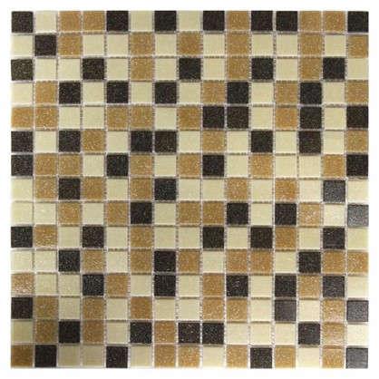 Мозаика Artens 32.7х32.7 см керамическая цвет бежевый/коричневый цена