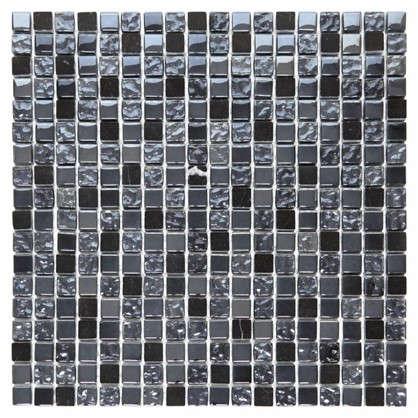 Мозаика Artens Fsn 30х30 см стекло цвет чёрный цена