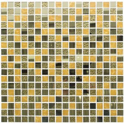 Мозаика Artens Gold 30х30 см стекло цвет золотой цена