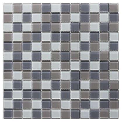Мозаика Artens Shaker 29.8х29.8 см стекло цвет серый/бежевый