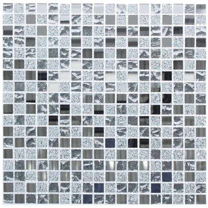 Мозаика Artens Silver 30х30 см стекло цвет серый цена
