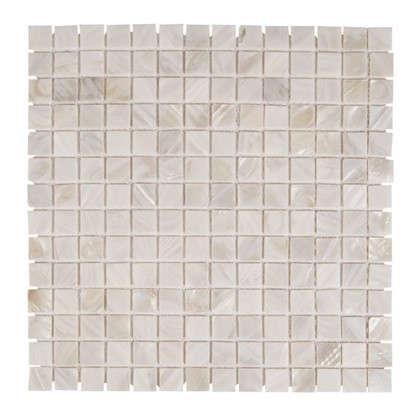 Мозаика из ракушек цвет белый цена