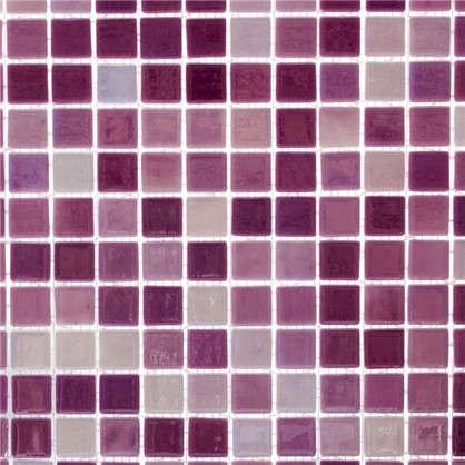 Мозаика Vidrepur № 404 31.7х31.7 см стекло цвет фиолетовый