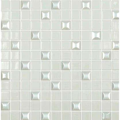 Мозаика Vidrepur Edna 31.7х37.7 см цвет белый