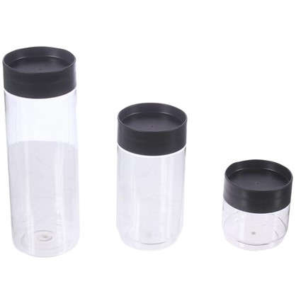 Набор банок для сыпучих продуктов 0.5 л/1 л/1.5 л цена