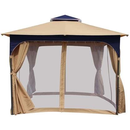 Набор для павильона Сапфир: штора сетка тент сумка для переноскицвет белый цена