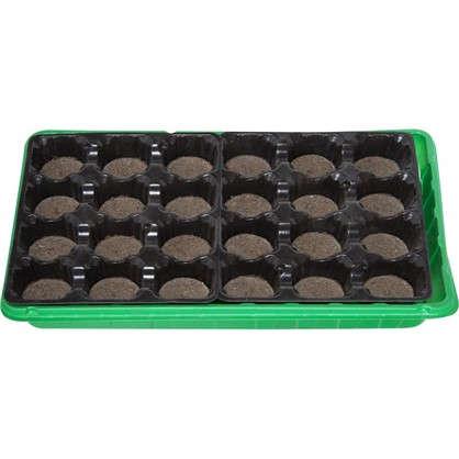 Набор для рассады с торфяными таблетками 24 шт. цена