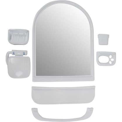 Набор для ванной комнаты с зеркалом закругленный цена