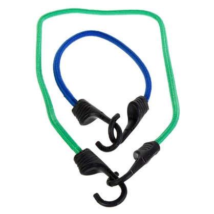 Набор эластичных веревок с крюками 0.25-0.8 м 14 шт. цена