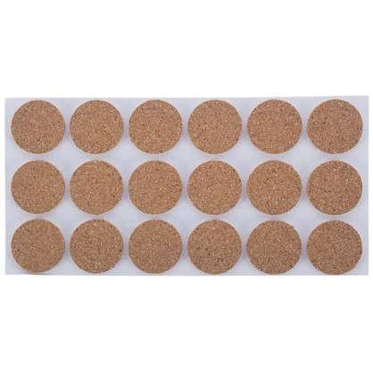 Набор фетровых набоек круглые/квадратные войлок цвет коричневый 83 шт. цена