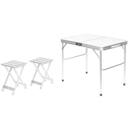 Набор мебели для пикника 3 предмета алюминий цена