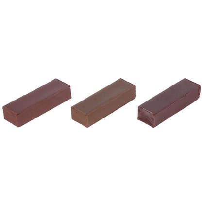 Набор мелков восковых оттенки тёмно-коричневые 3 шт. цена