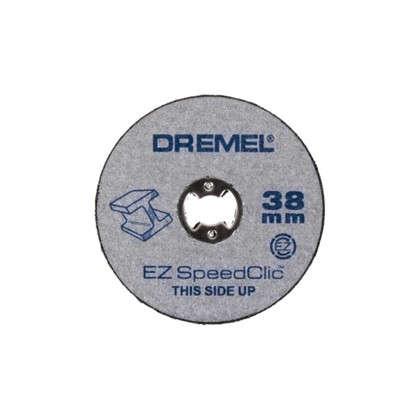 Набор отрезных кругов Dremel SC456 резка металл/дерево/пластмасса 38 мм 12 шт. цена