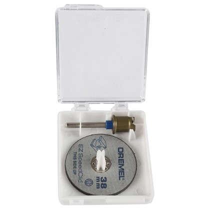 Набор отрезных кругов Dremel SpeedClic SC406 резка металла 38 мм 2 шт. цена