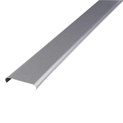 Набор реек 2.5х1 м цвет серебристый металлик без раскладки цена