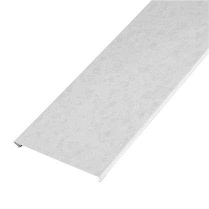 Набор реек 2.5х1.05 м цвет белый мрамор