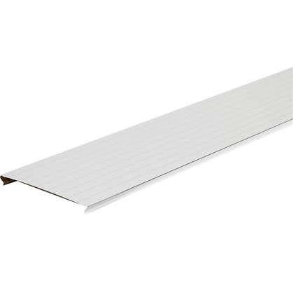 Набор реек Artens 2х1.05 м цвет жемчужно-белый с металлической полосой цена