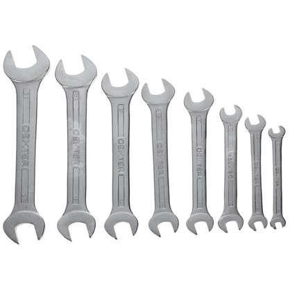 Набор рожковых ключей Dexter CR-V 6-22 мм 8шт. цена