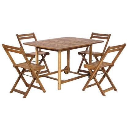 Набор садовой мебели NATERIAL 5 предметов цена