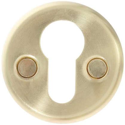 Накладка дверная Фабрика замков Е 002 цвет матовое золото цена