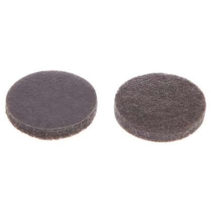 Накладки фетровые Standers 25 мм круглые войлок цвет коричневый 8 шт. цена