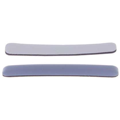 Накладки Standers PTFE 15x100 мм прямоугольные пластик цвет серый 2 шт. цена