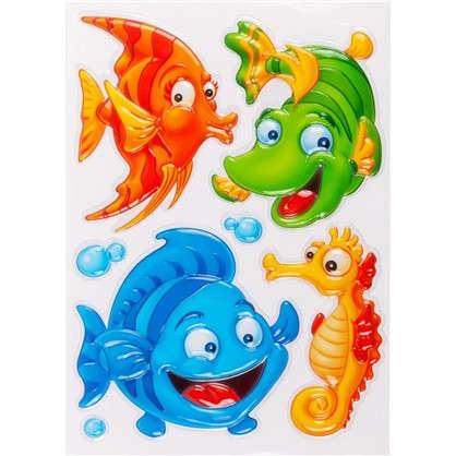 Наклейка 3D Рыбки POA 1010 цена