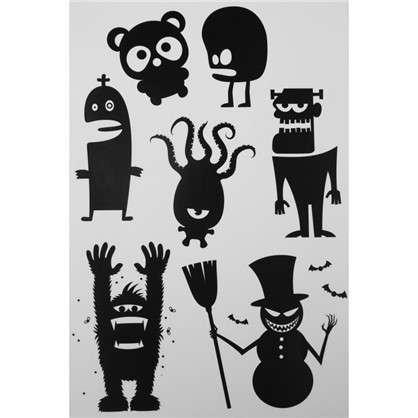 Наклейка на Halloween Монстр из-под кровати Декоретто цена
