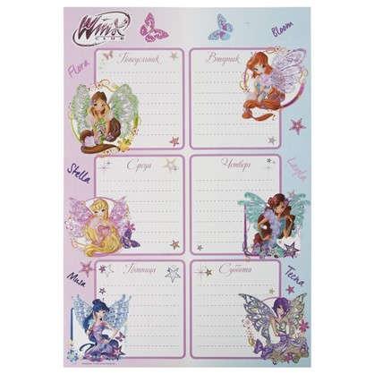Наклейка Школа-расписание Winx Декоретто S цена