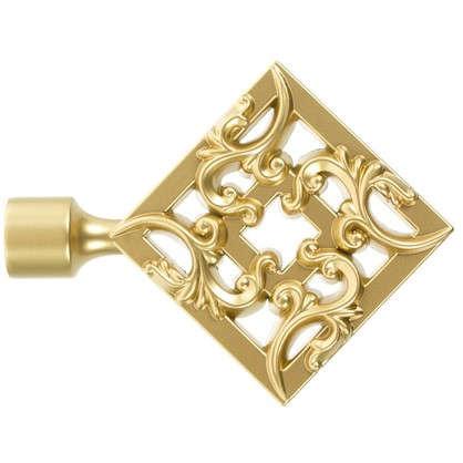Наконечник Вензель 11 см цвет золото матовое