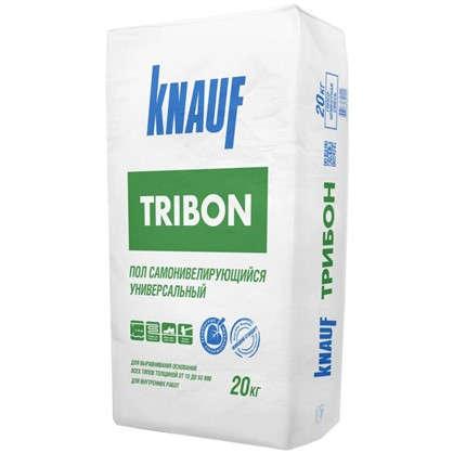 Наливной пол Knauf Трибон 20 кг цена
